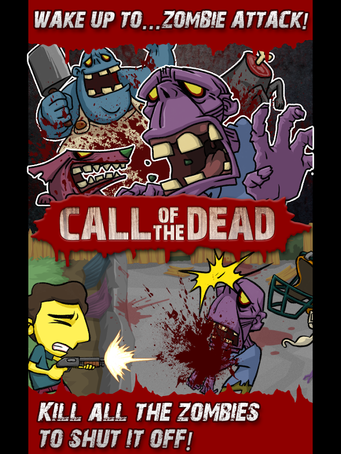 Call of the Dead-Zombie Alarm! - screenshot