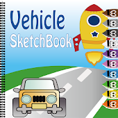Coloring Book(Vehicle)