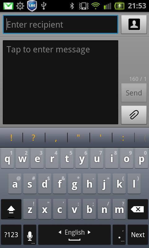 Hungarian for Perfect keyboard- screenshot