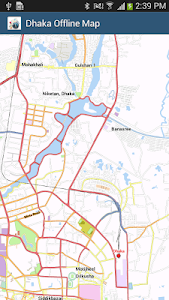 Dhaka Offline Map screenshot 0