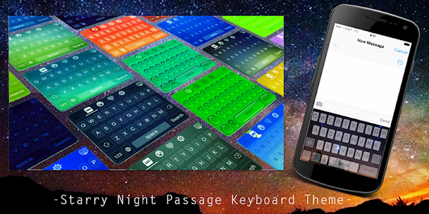 App Starry Night Passage Keyboard APK for Windows Phone