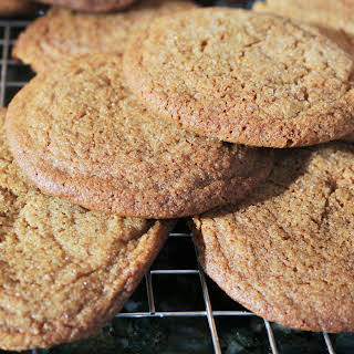 Molasses Cookies with coconut oil.