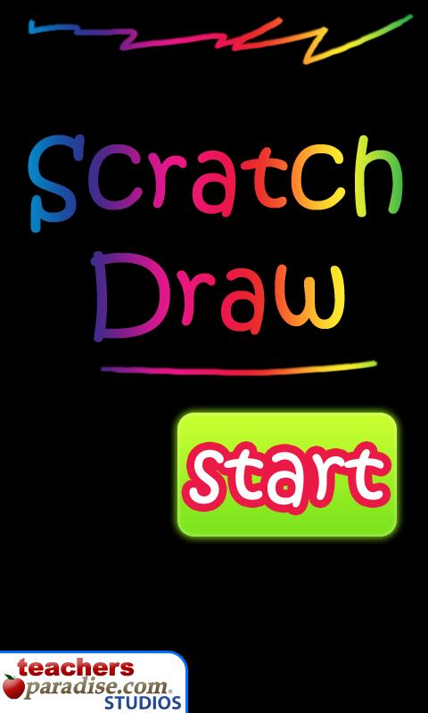 Scratch Draw Art Game - screenshot