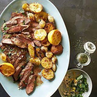 Scandinavian Steak and Potatoes.