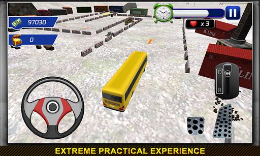公交司机停车3D疯狂