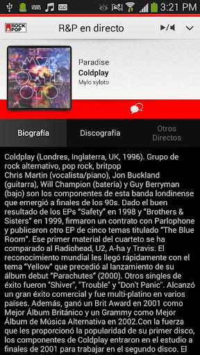 Radio Rock Pop para Android