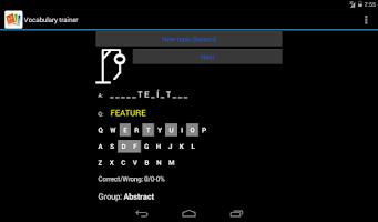 Screenshot of Advanced Dictionary