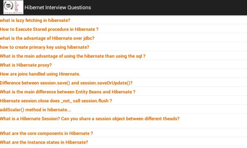 Java J2EE Interview Questions - screenshot