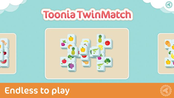 Toonia TwinMatch: Mahjongg - screenshot