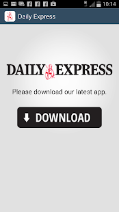 Daily Express Updater - screenshot thumbnail