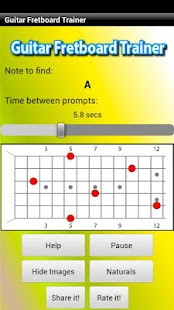 Guitar Fretboard Trainer- screenshot thumbnail