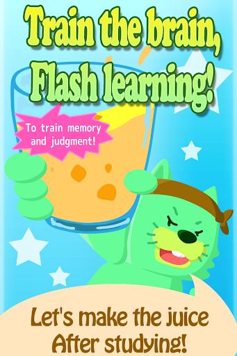 Brain game Flash juice Kids