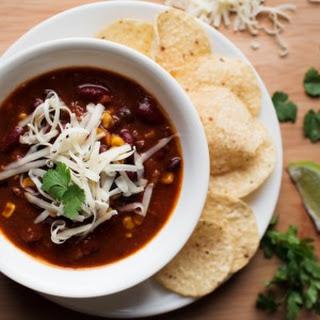 Simple Crockpot Chili