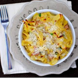 Tuna Noodle Casserole.