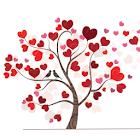 Valentine tree icon