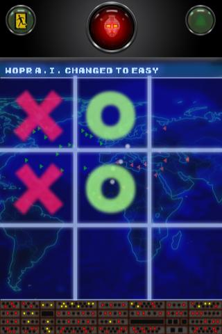Tic Tac Toe WARGAMES free - screenshot
