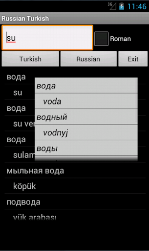 Turkish Russian Dictionary