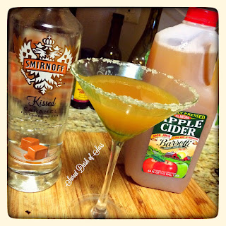 Carm-Apple Martini.