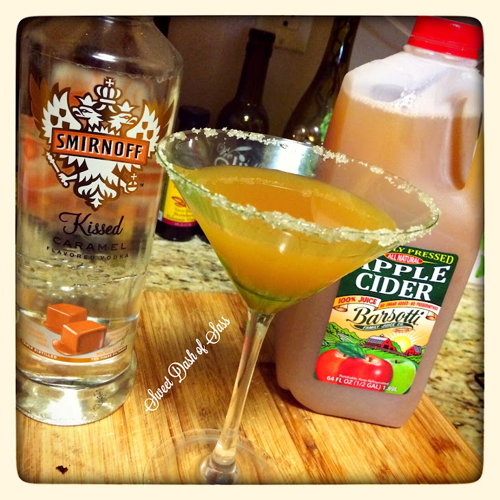 Carm-Apple Martini Recipe