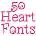 Fonts for FlipFont 50 Hearts icon