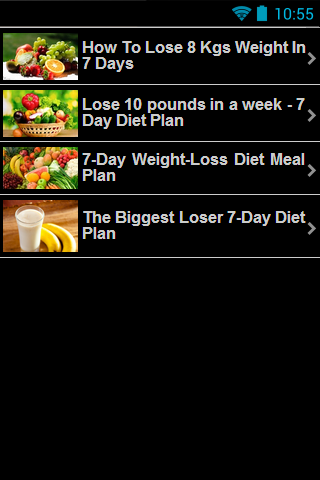 Diet Plan - Weight Loss 7 Days - Revenue & Download
