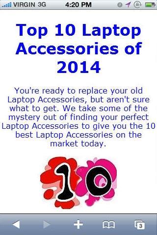 Laptop Accessorie Reviews