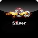 Silver GoLauncher EX theme icon