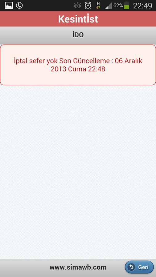 Kesintİst- screenshot