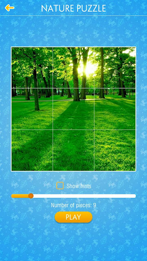Jigsaw Puzzle: Nature