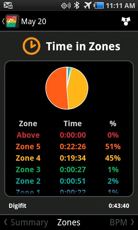 iRunner 3 GPS Heart Rate Trainer- screenshot