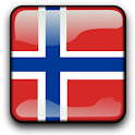Norway Flag Clock Widget icon
