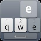 Cool Grey Keyboard Skin icon