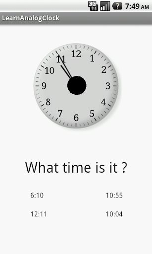 【免費教育App】Learn Analog Clock-APP點子