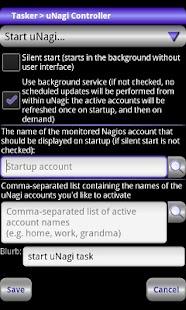 Locale uNagi Settings Plug-in- screenshot thumbnail