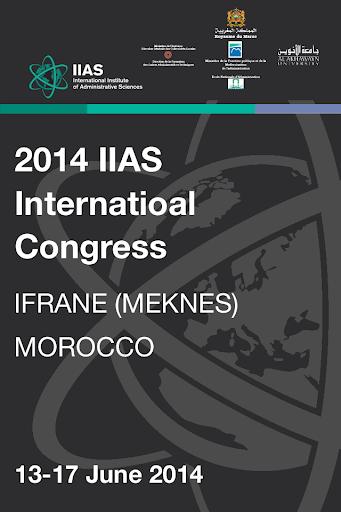 IIAS Congress 2014