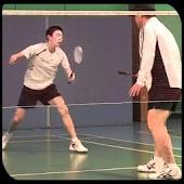 Badminton Doubles Footwork