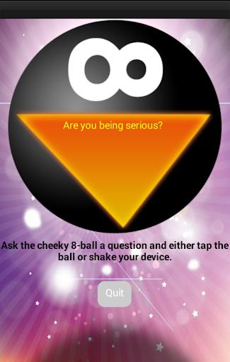 Magic 8 Ball - Cheeky version