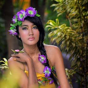 Flower Princess by Dima Okto - People Fashion