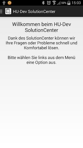 HU-Dev SolutionCenter