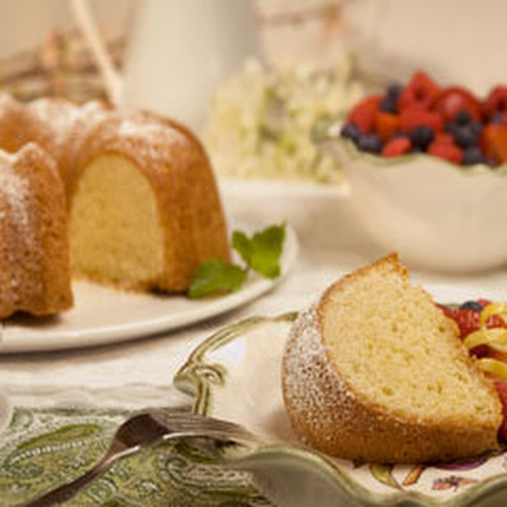 Golden Citrus Cake Recipe