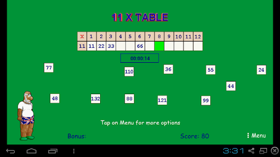Times tables android apps on google play for What times table is 99 in