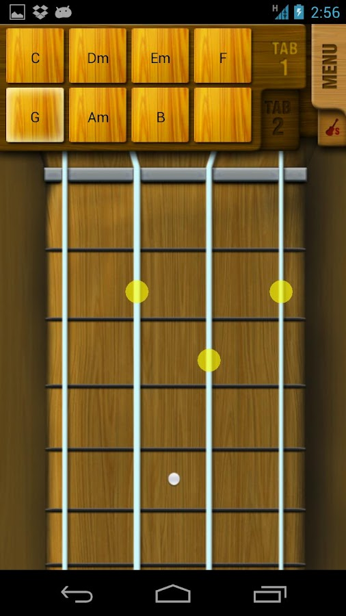 Play Ukulele - screenshot