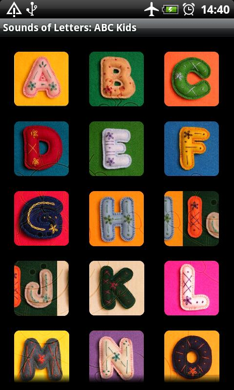 Sounds of Letters: ABC Kids- screenshot