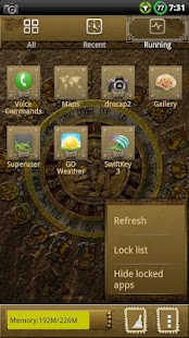 MAYAN GO Launcher EX Theme - screenshot thumbnail