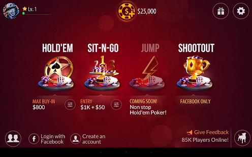 Zynga Poker - Texas Holdem - screenshot thumbnail