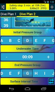Dive Planner 2 Free screenshot