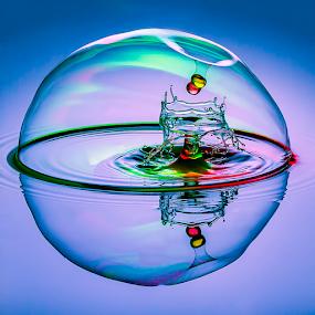 Penetration by Ganjar Rahayu - Abstract Water Drops & Splashes ( waterdrop )