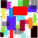 Panda Home Colorful Squares logo
