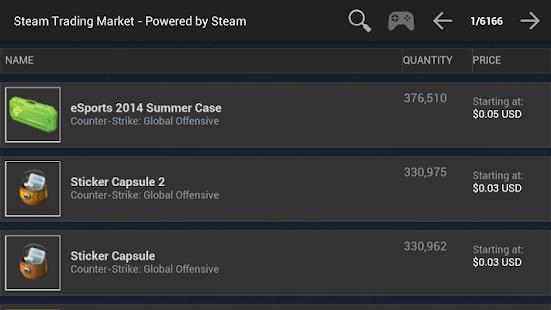 Steam Trading Market screenshot