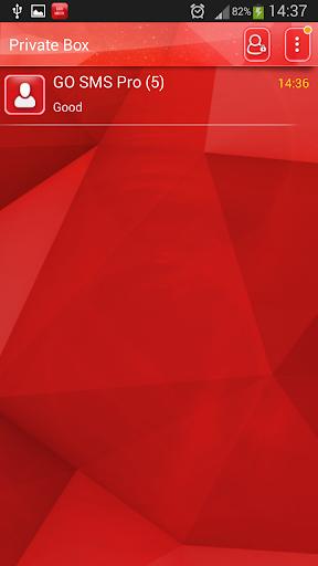 【免費娛樂App】GO短信加强红色霓虹灯-APP點子